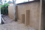 Allington Maidstone - Render Garden Wall, after
