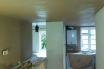 Tonbridge - Metal frame ceiling to cover existing wiring/pipework, after